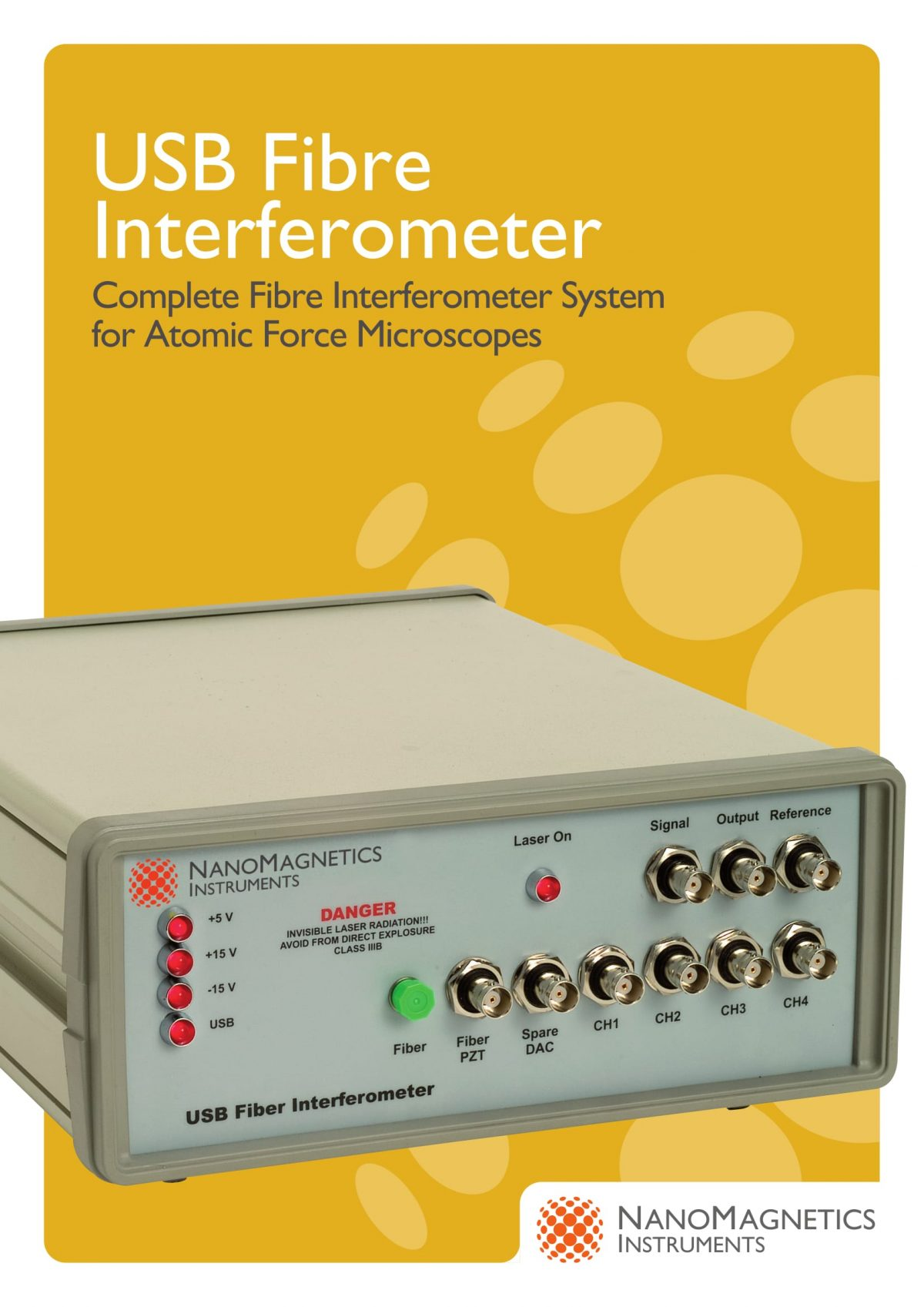 USB Fibre Interferometer  USB光纤干涉仪